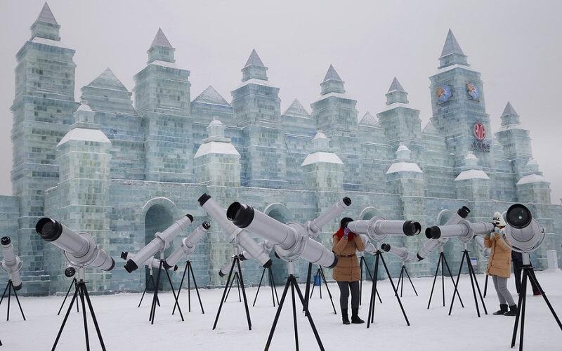 масштабность Харбинского фестиваля в Китае
