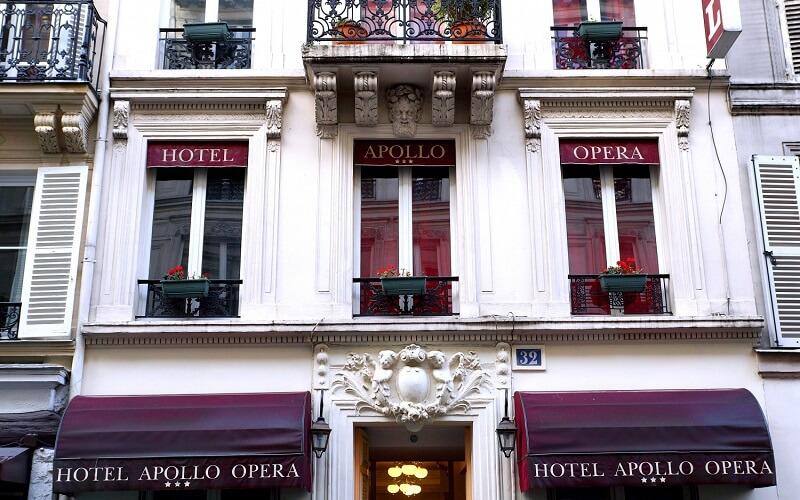 горящий тур в отель Apollo Opera 3*, Франция, Париж