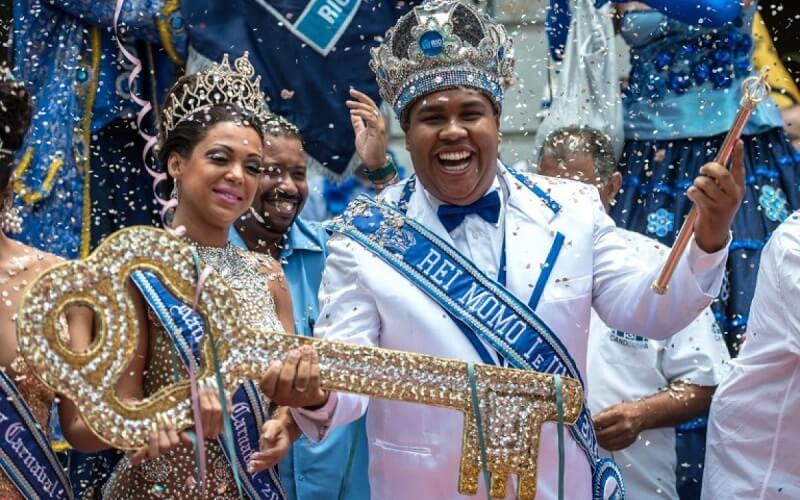 король і королева Бразильського карнавалу