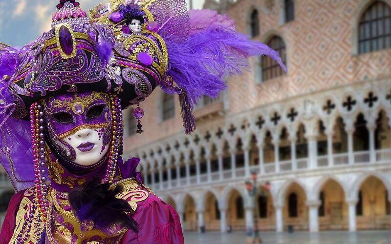 маска Венецианской Дамы