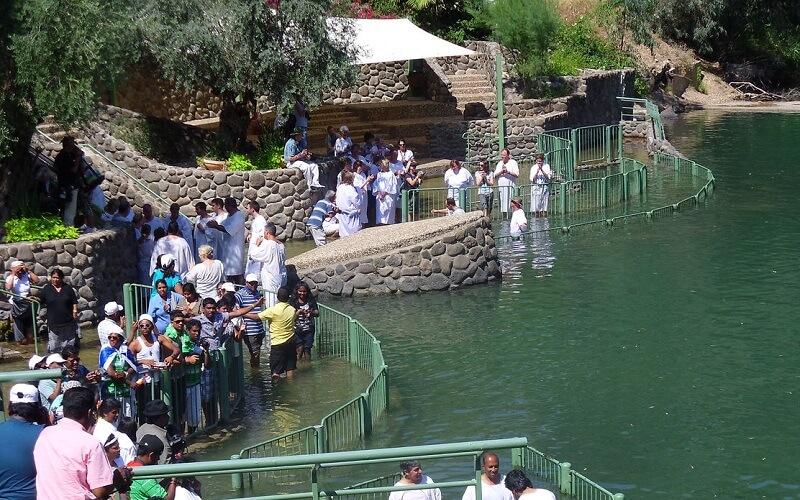 визит на реку Иордан