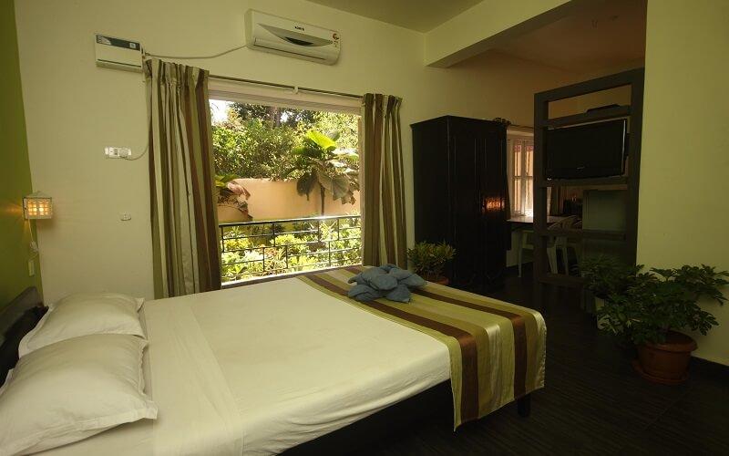 номер в отеле Jarrs Renton Manor 2*, Северный Гоа, Индия