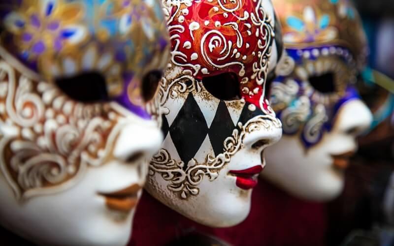 венеціанські маски