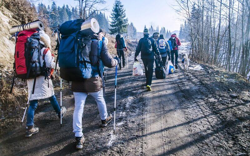 похід на Говерлу взимку