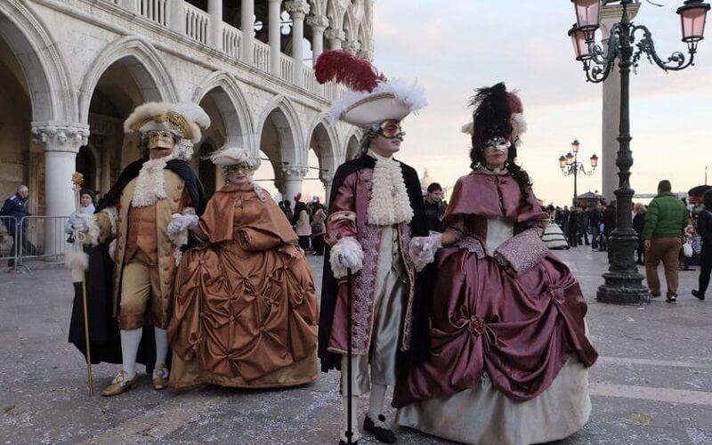 программа карнавала в Венеции