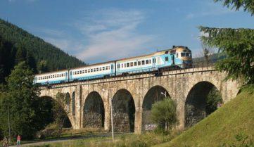 «Укрзалізниця» продлевает курсирование поезда Киев-Ивано-Франковск до Ворохты