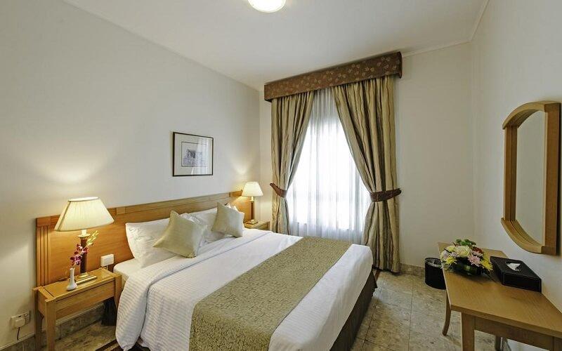 номер в отеле Al Bustan Centre & Residence 3*, Дубай, ОАЭ