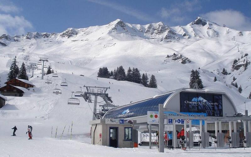 курорт Шампери в Швейцарии