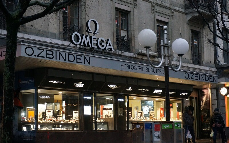 магазины часов в Женеве