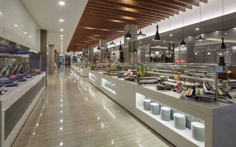 питание в отеле The Sense Deluxe 4*, Сиде, Турция