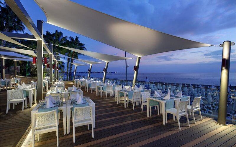ресторан в отеле The Sense Deluxe 4*, Сиде, Турция