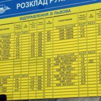Залізничні квитки Львів