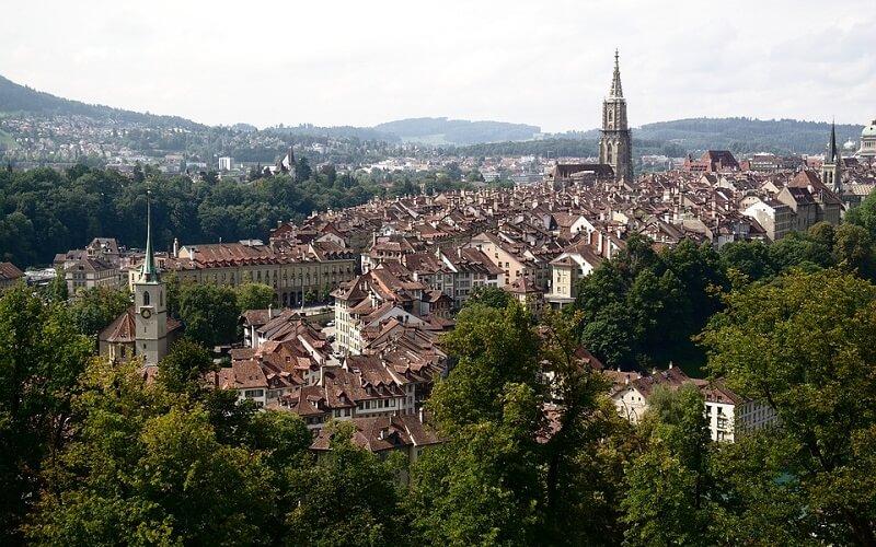 місто Берн в Швейцарії