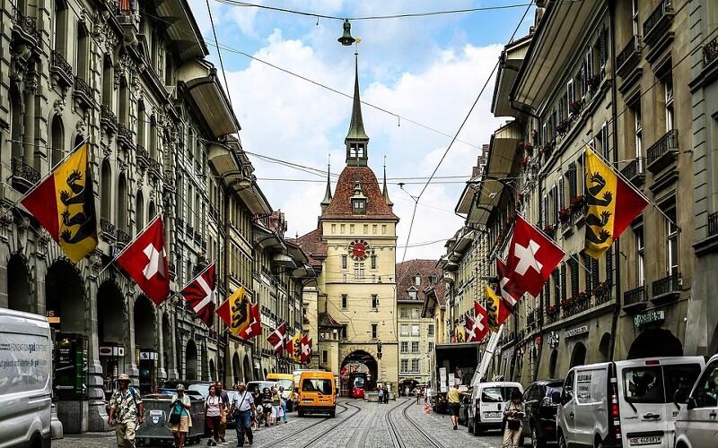 Берн — столица Швейцарии