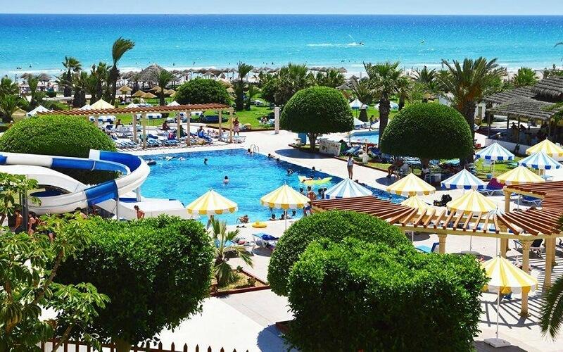 територія готелю Club Thapsus 3*, Туніс, Махдія
