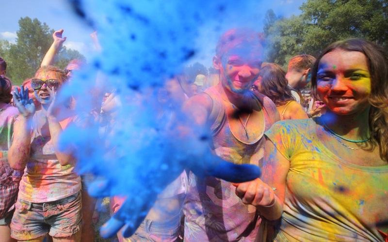 фестиваль красок в Украине