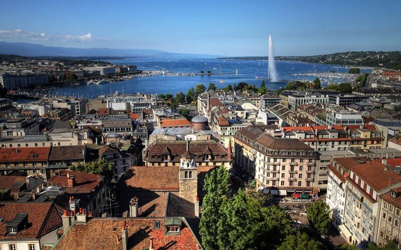 Женева в Швейцарии