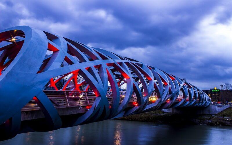 современная архитектура в Женеве