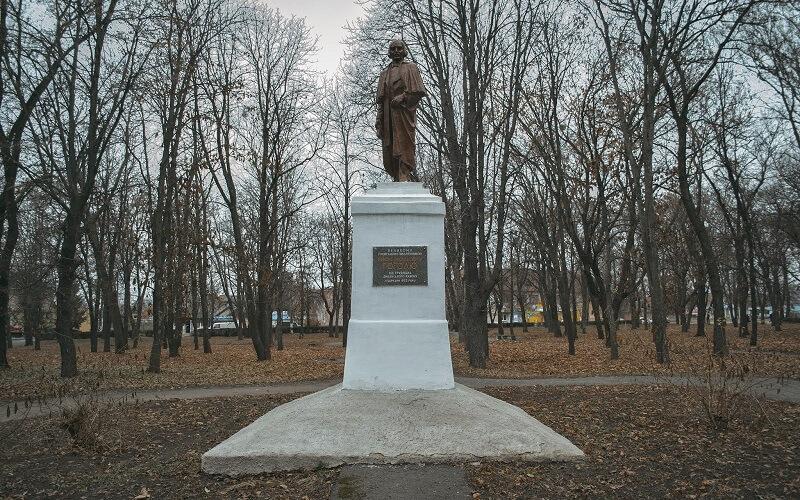 Пам'ятник Н.В.Гоголем Диканька