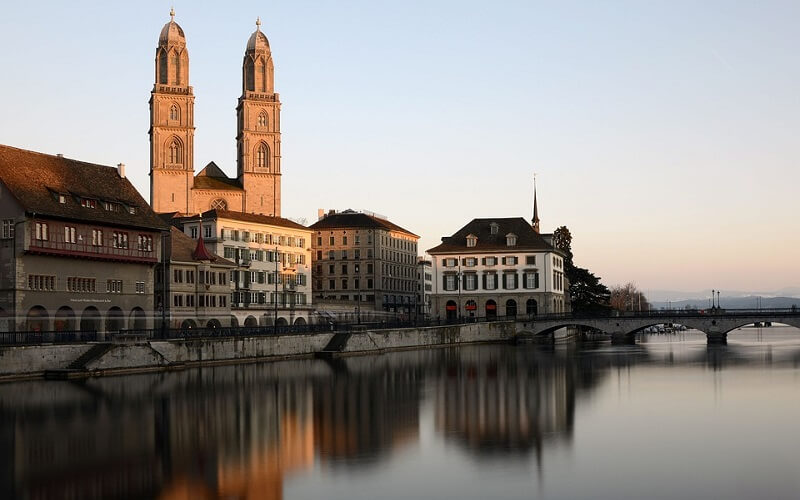 місто Цюріх у Швейцарії
