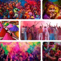 Чем интересен фестиваль красок Холи в Индии