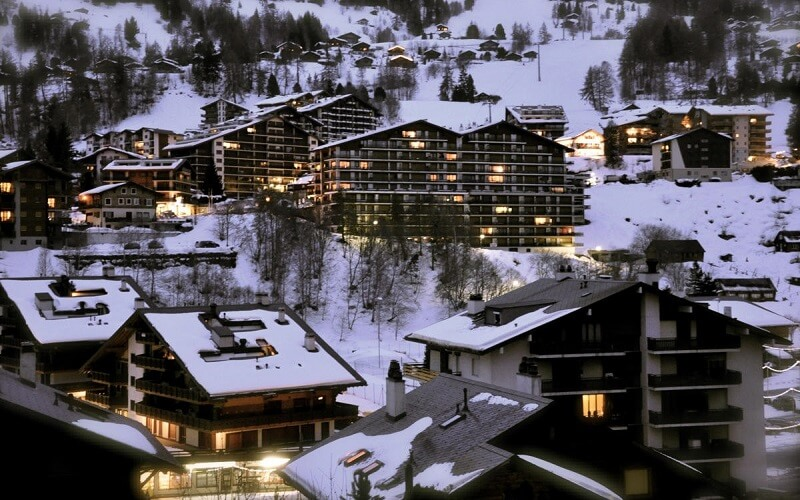курорт Нанда в Швейцарії