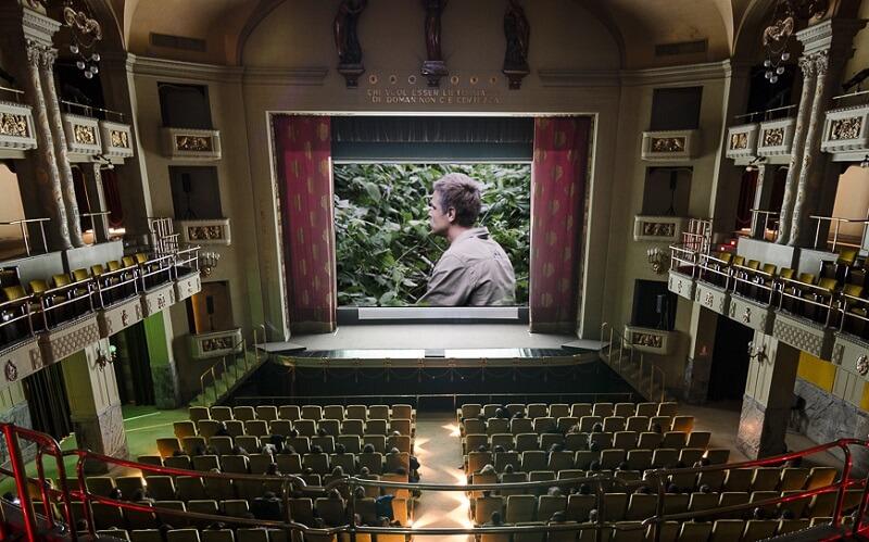 кинотеатр «Одеон» в Италии