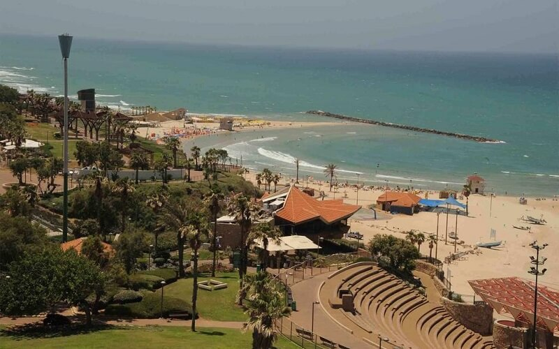 вид из окна Park Hotel Netanya 3*, Нетания, Израиль