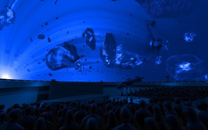 кинотеатр Атмосфера 360 в Киеве