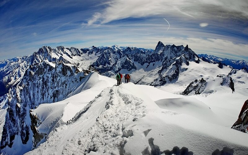 горный туризм в Швейцарии