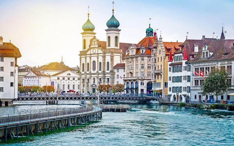 крупные города Швейцарии