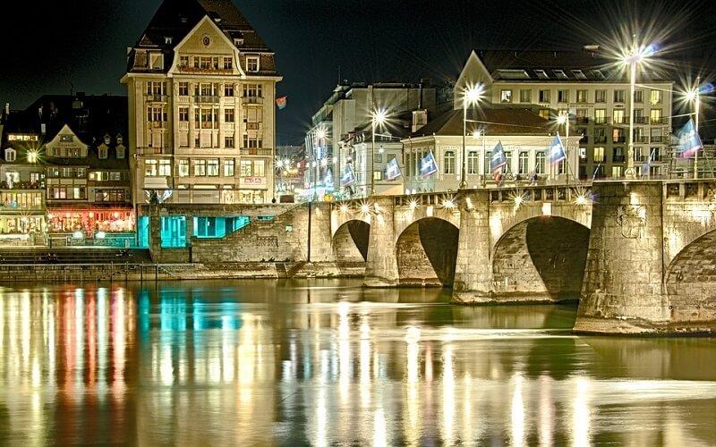 Базель в Швейцарии