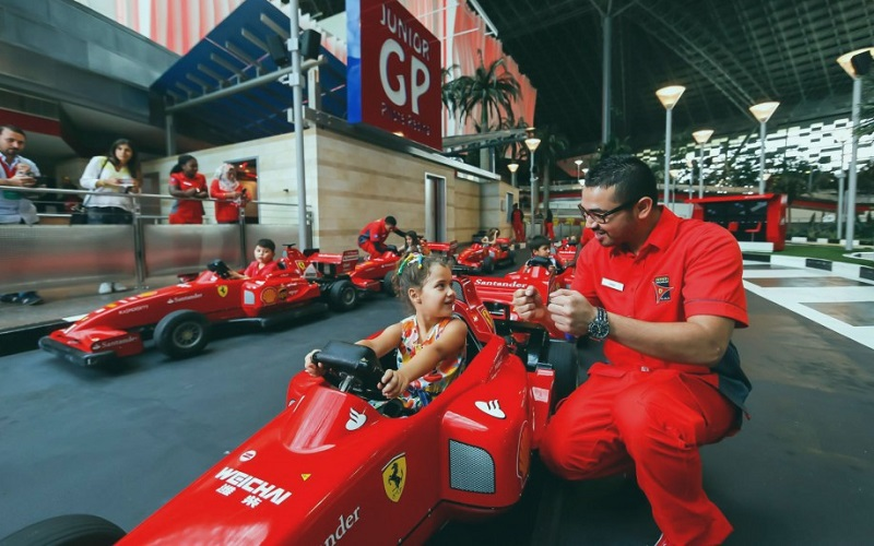 Парк Ferrari World, ОАЭ