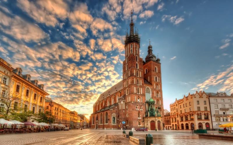 Вихідні у Кракові (Польща),