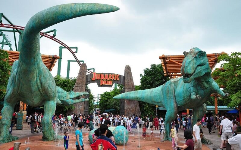 Развлекательный парк Universal Studios, США