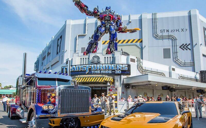 Парк от Universal Studios, Орландо, США