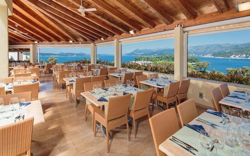 Ресторан в Valamar Argosy Hotel 3*, Дубровник