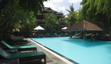 Бассен в отеле Puri Bambu 3*, о. Бали