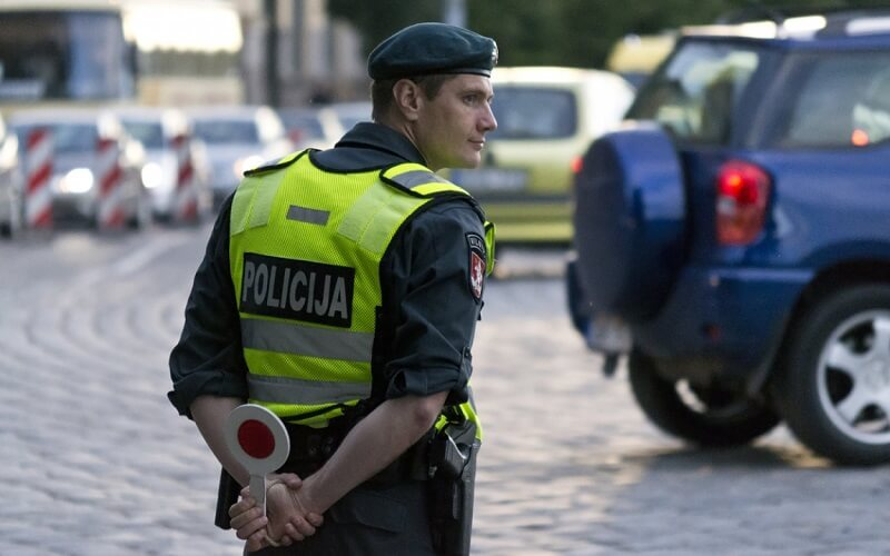 полиция на дорогах Европы