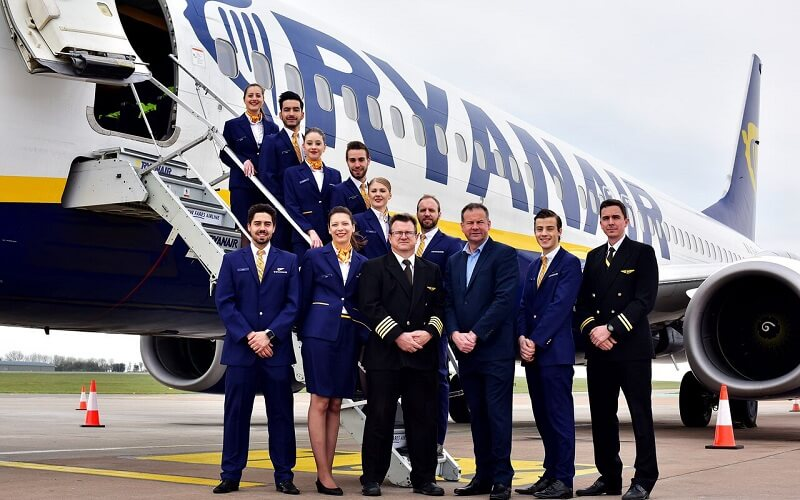 персонал Ryanair