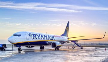 Лоукостер Ryanair выходит на украинские маршруты!