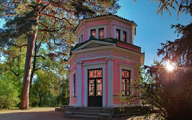 архитектура в Софиевском парке