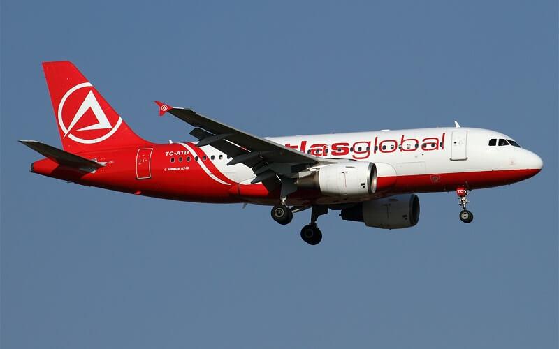 самолёт AtlasGlobal