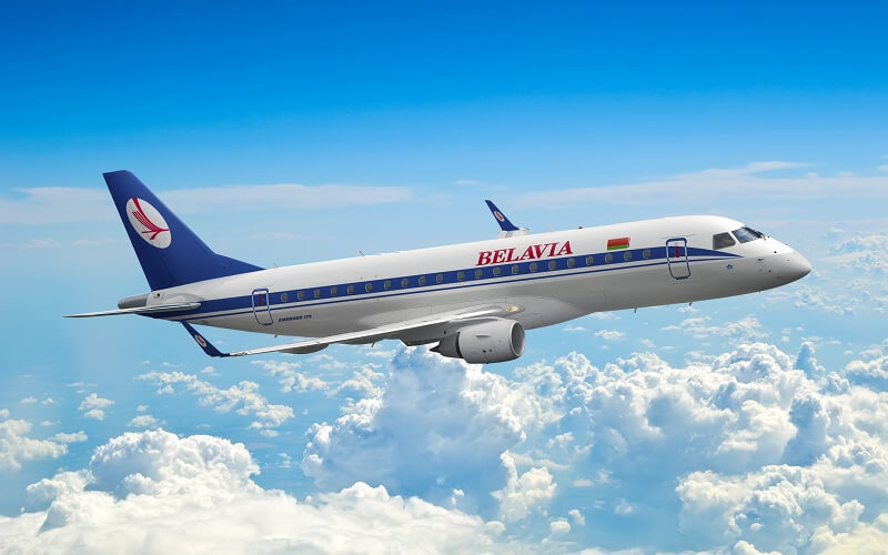 самолёт авиакомпании Belavia