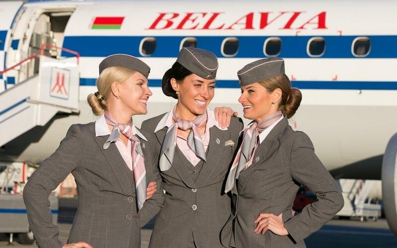 персонал авиакомпании Belavia