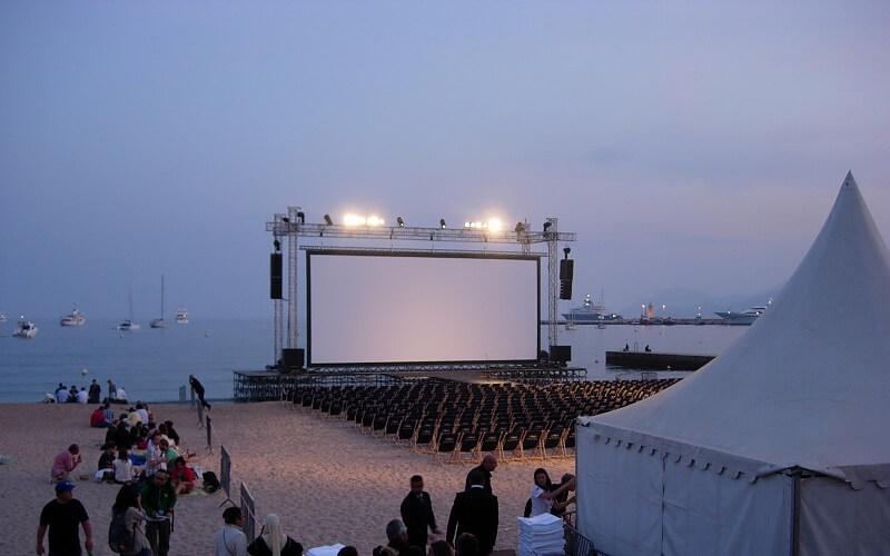 Канны фильмы на пляже