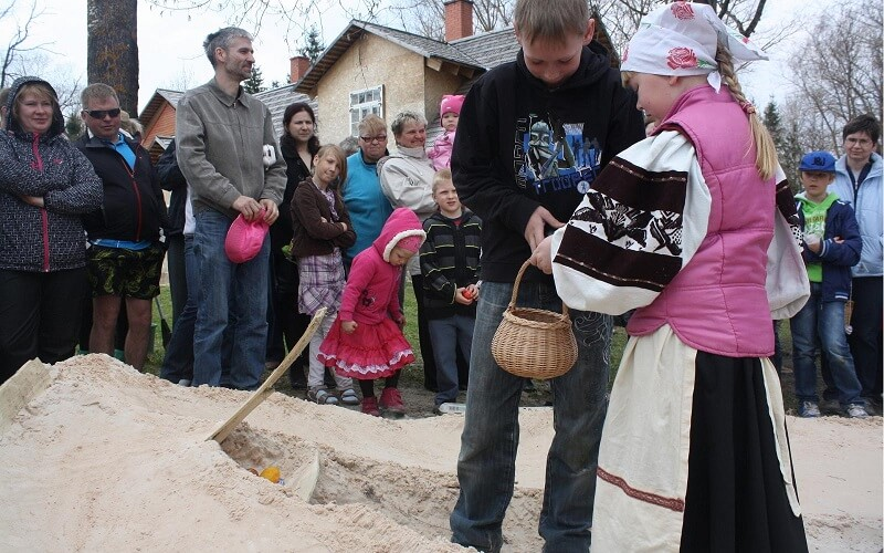 Великдень в Естонії