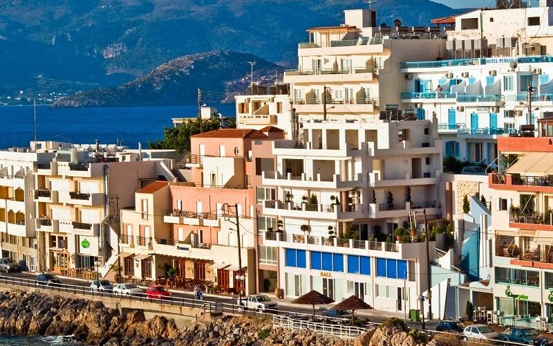 Інфраструктура о. Крит