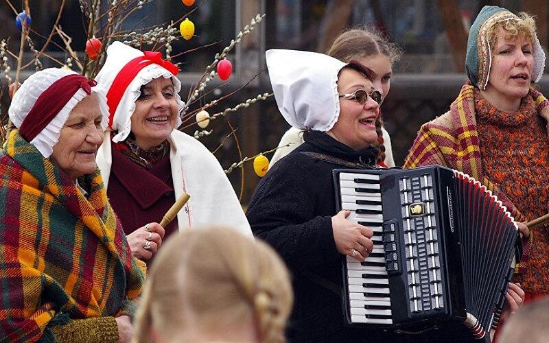 Великдень у Латвії