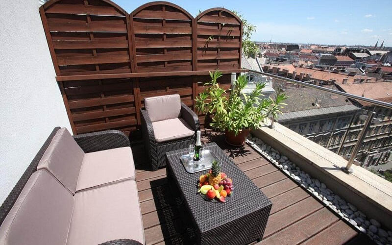 Балкон в Medosz Hotel 3, Венгрия